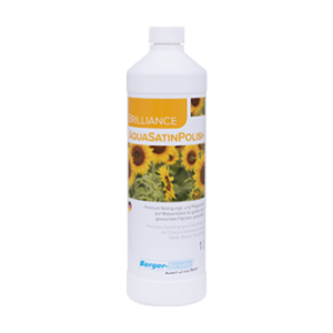 תכשיר על בסיס מים לטיפול והגנה לפרקט בגימור שמן או שמן ווקס(Brilliance AquaSatinPolish)