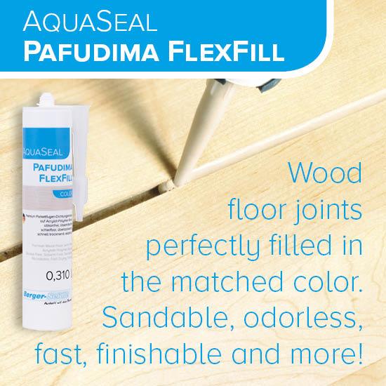 """מילוי גמיש למרווחים בפרקט 310 מ""""ל (Pafudima FlexFill Color)"""