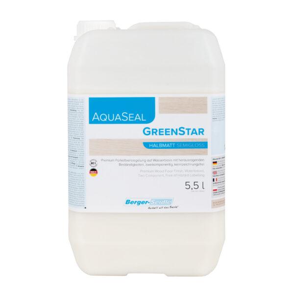 לכה פרימיום לפרקט, דו-רכיבי על בסיס מים. (AquaSeal GreenStar)