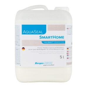 לכה חד רכיבי, על בסיס מים, לפרקט (AquaSeal SmartHome)