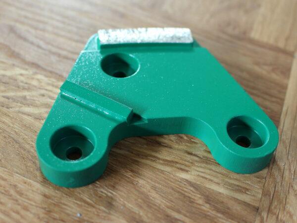 Scrabber- צלחת 6 סגמנטים יהלום. תוצרת Lagler גרמניה